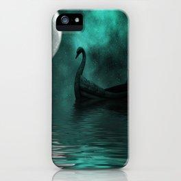Solar Swan iPhone Case