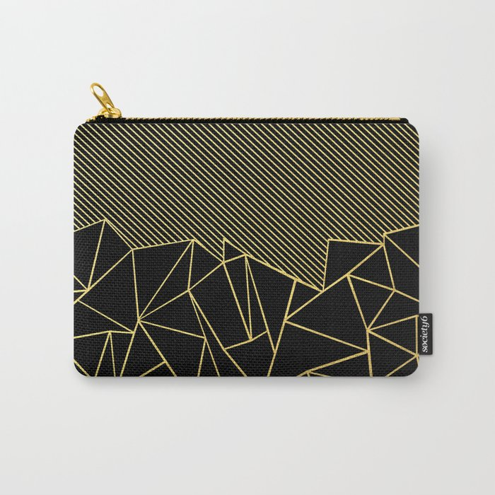 Ab Lines 45 Gold Carry-All Pouch