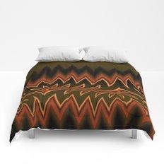 Fractal Tribal Art in Autumn Comforters