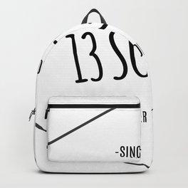 13 Sugars Theater Company Logo Backpack