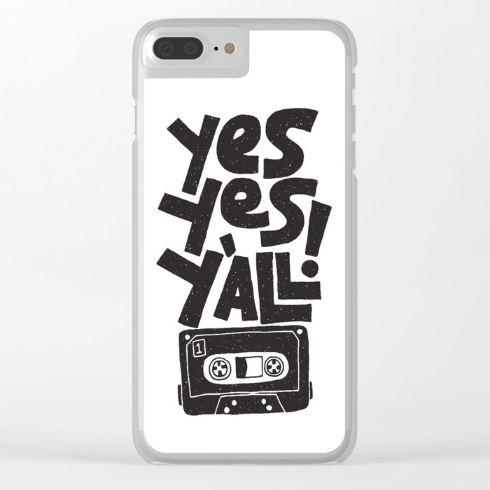 Y'all Clear iPhone Case