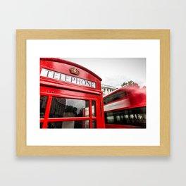 Iconic London Framed Art Print