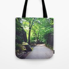 A Woodland Path Tote Bag
