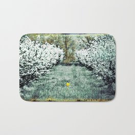 Orchard Flower Bath Mat