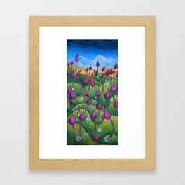 Hills and Hills Framed Art Print