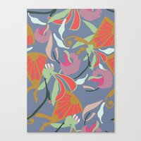 oriental Canvas Prints featuring Oriental  by Laura Sturdy