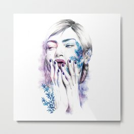 Miss Sprout Metal Print