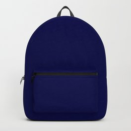 Simply Plain Marine Blue - Mix and Match with Simplicity of Life Backpack