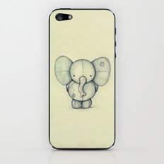 Cute Elephant iPhone & iPod Skin