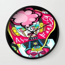 Futura de Afro Wall Clock
