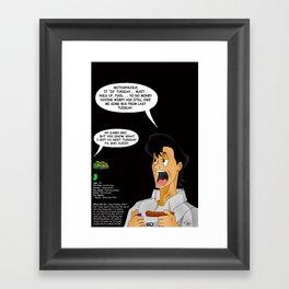 "Planet Smokas presents Daze of Our Livez - J ""What We Do"" Profile Page 4/10 Framed Art Print"