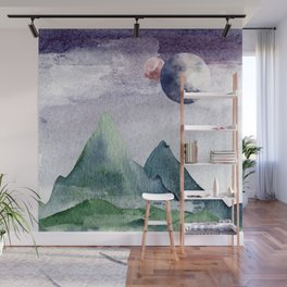 Mountain Mist Wall Mural