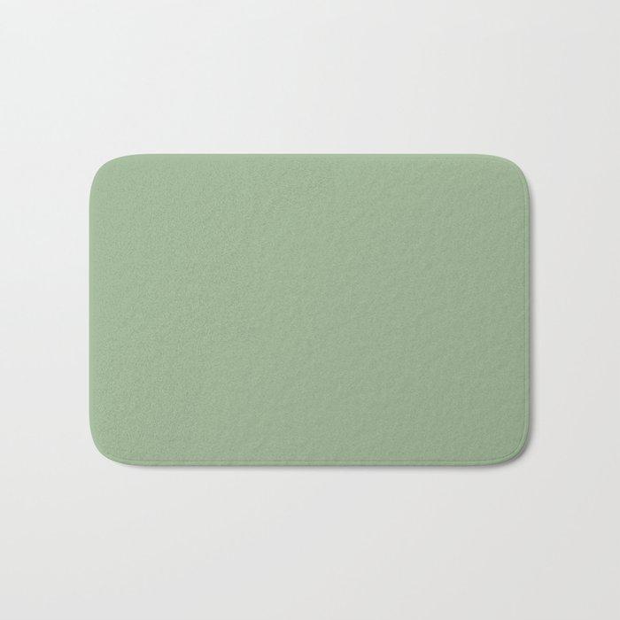 Solid Color SAGE GREEN  Badematte