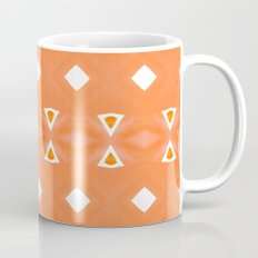 Geo Triangle Orange 3 Coffee Mug