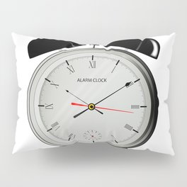 Alarm Clock Pillow Sham