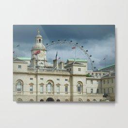 Eye Over Whitehall Metal Print