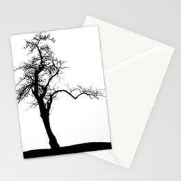 Einsamer Baum Stationery Cards