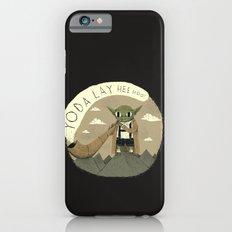 yodaling (grey colour option) iPhone 6s Slim Case