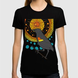 redwing blackbird and pentagon T-shirt