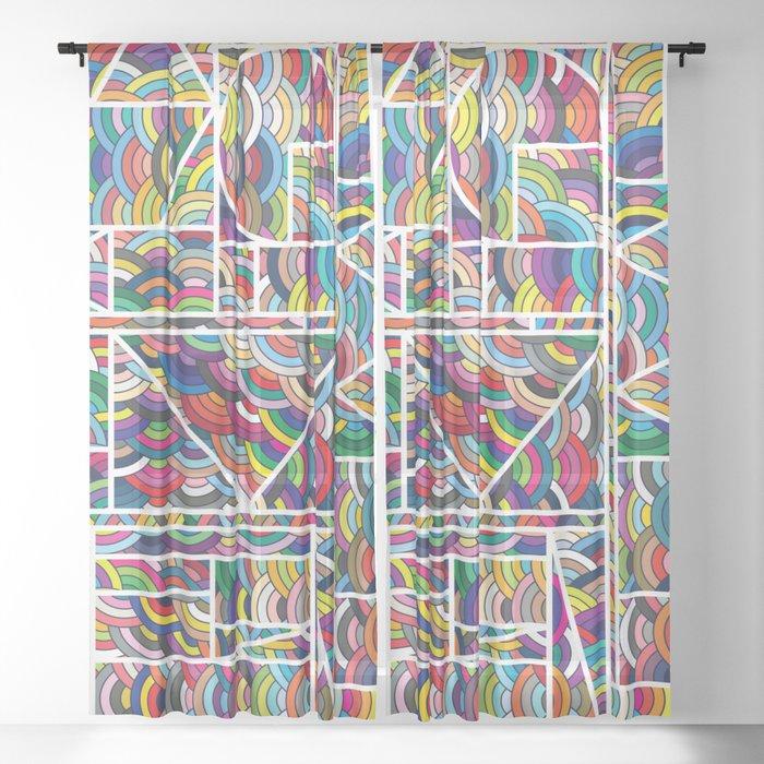 Kaku Technicolor Sheer Curtain