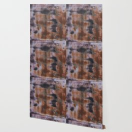 Copper and Iron abstract pattern Wallpaper