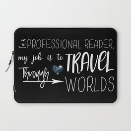 Professional Reader Laptop Sleeve