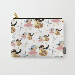 Navratri Pattern Carry-All Pouch