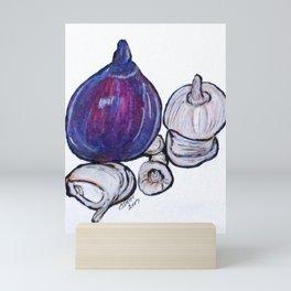 Onion And Garlic Mini Art Print