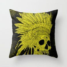 Kid Chief Throw Pillow
