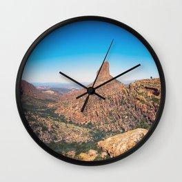 Weavers Needle Wall Clock