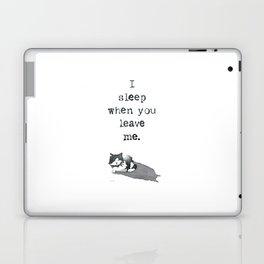 I Sleep When Laptop & iPad Skin