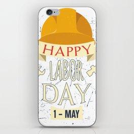 Happy Labor Day iPhone Skin