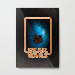 Bear Wars - the Wawas Metal Print