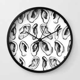 The SENSUALIST Collection (Hearing) Wall Clock