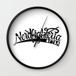 Nerdfighteria Wall Clock