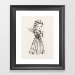 Angel of Peace Framed Art Print