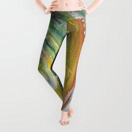 Green Tidal Leggings