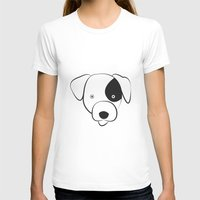 jack russell T-shirts featuring Jack Russell by anabelledubois