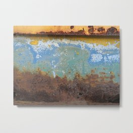 paint & rust Metal Print