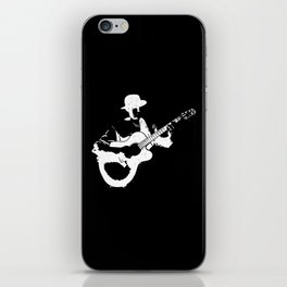 Musician playing iPhone Skin