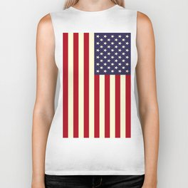 Flag of the United States of America Biker Tank
