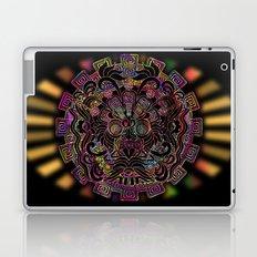 Aztec Sun Psychedelic Mask Laptop & iPad Skin