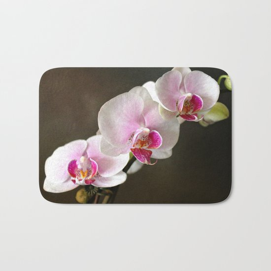Pink Orchid Bath Mat