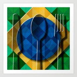 Copa & Cucina I Art Print