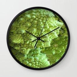 Romanesco Cauliflower - Freeky vegi Wall Clock