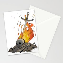 A Distinguished Fire Stationery Cards