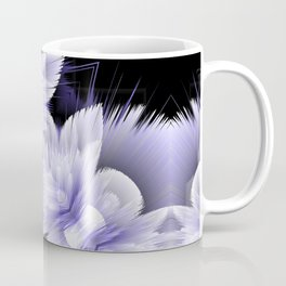 double 3d floral pattern Coffee Mug