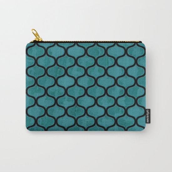 Watercolor Lovely Pattern VVXIV Carry-All Pouch
