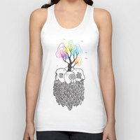 tree of life Tank Tops featuring Tree Of Life by Heiko Windisch