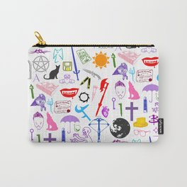 Buffy Symbology, Multi-color / Rainbow / PRIDE! Carry-All Pouch
